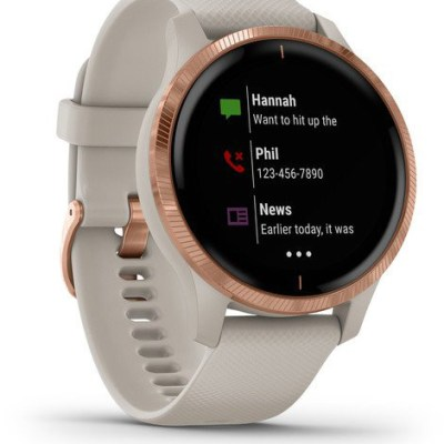 Garmin Venu, rose gold/light sand