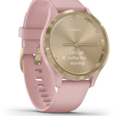 Garmin vivomove 3S S/E Sport, light gold/dust rose