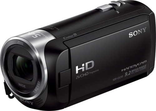 Sony HDR-CX240E, must