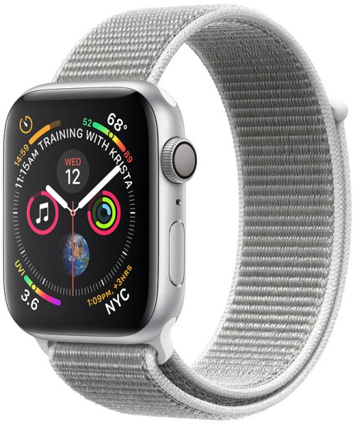 Apple Watch 4 GPS 40mm Sport Loop, seashell