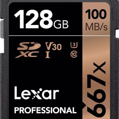 Lexar mälukaart SDXC 128GB Professional 667x U3 V30 100MB/s
