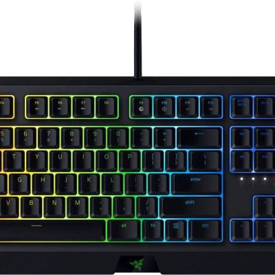 Razer klaviatuur Blackwidow 2019 RU Green Switches