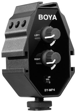 Boya adapter audio BY-MP4