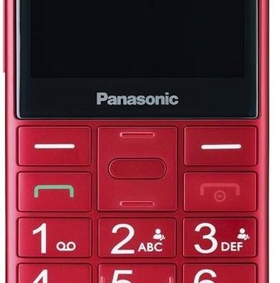 Panasonic KX-TU150 Dual SIM, punane