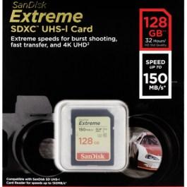 SanDisk mälukaart SDXC 128GB Extreme Video V30 U3