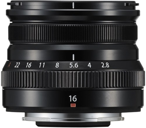 Fujifilm XF 16mm f/2.8 R WR objektiiv, must