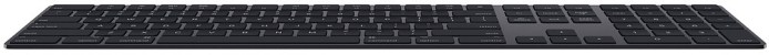 Apple klaviatuur + numbriklaviatuur Magic Keyboard SWE, space grey