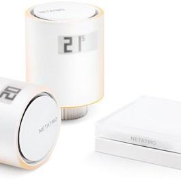 Netatmo termostaatventiilide komplekt Smart Radiator Valves Starter Pack