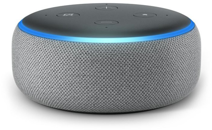 Amazon Echo Dot 3, hall