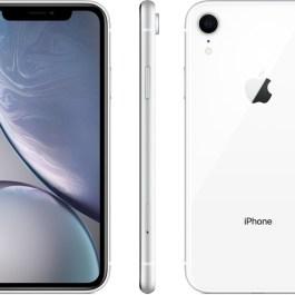 Apple iPhone XR 64GB, white