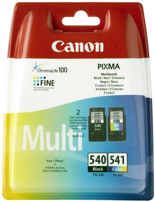 Canon tint PG-540/CL-541 Multipack, värviline/must
