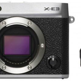 Fujifilm X-E3 + 23mm f/2.0 Kit, hõbedane
