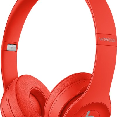Beats juhtmevabad kõrvaklapid + mikrofon Solo3, citrus red
