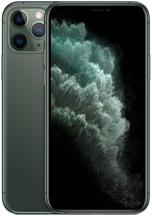 Apple iPhone 11 Pro 64GB, midnight green