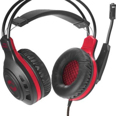 Speedlink kõrvaklapid + mikrofon Celsor Gaming, must (SL-860011-BK)