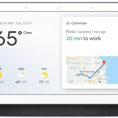 Google Nest Home Hub Assistant, hall