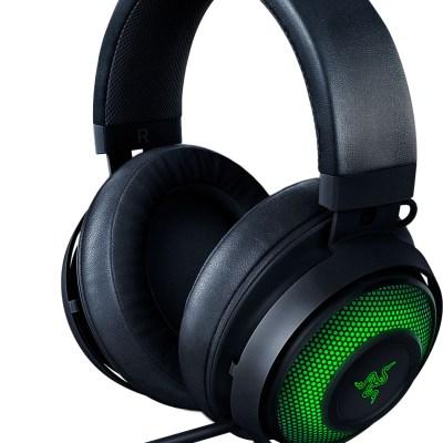 Razer kõrvaklapid + mikrofon Kraken Ultimate, must