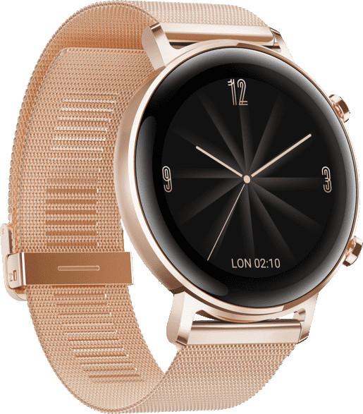 Huawei Watch GT 2 42mm, kuldne metall