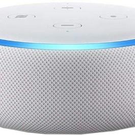Amazon Echo Dot 3, helehall