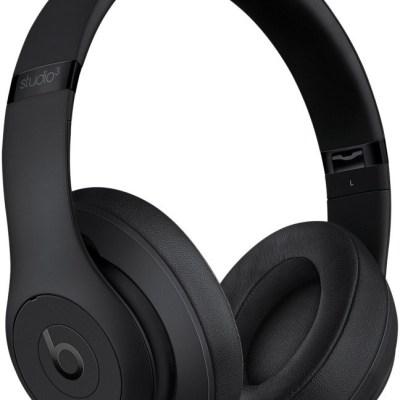 Beats juhtmevabad kõrvaklapid + mikrofon Studio3, matte black