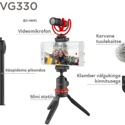 Boya vlogging kit Standard BY-VG330