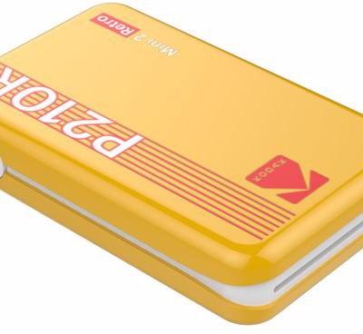 Kodak fotoprinter Mini 2 Plus Retro, kollane