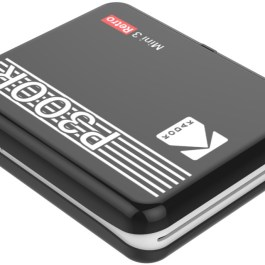 Kodak fotoprinter Mini 3 Plus Retro, must