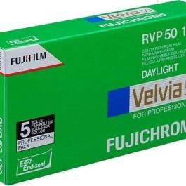 Fujichrome film Velvia RVP 50-120×5