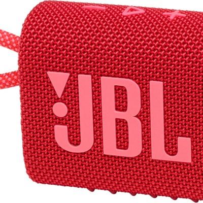 JBL juhtmevaba kõlar Go 3 BT, punane