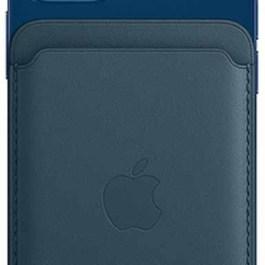 Apple kaarditasku iPhone Leather Wallet + MagSafe, sinine