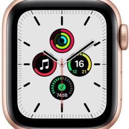 Apple Watch SE GPS + Cellular 40mm Sport Loop, gold/maize/white (MKQY3EL/A)