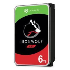 HDD|SEAGATE|IronWolf|6TB|SATA 3.0|256 MB|5400 rpm|Discs/Heads 4/8|3,5″|ST6000VN001