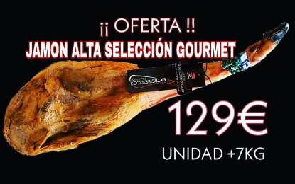Oferta Jamón Alta Selección Gourmet