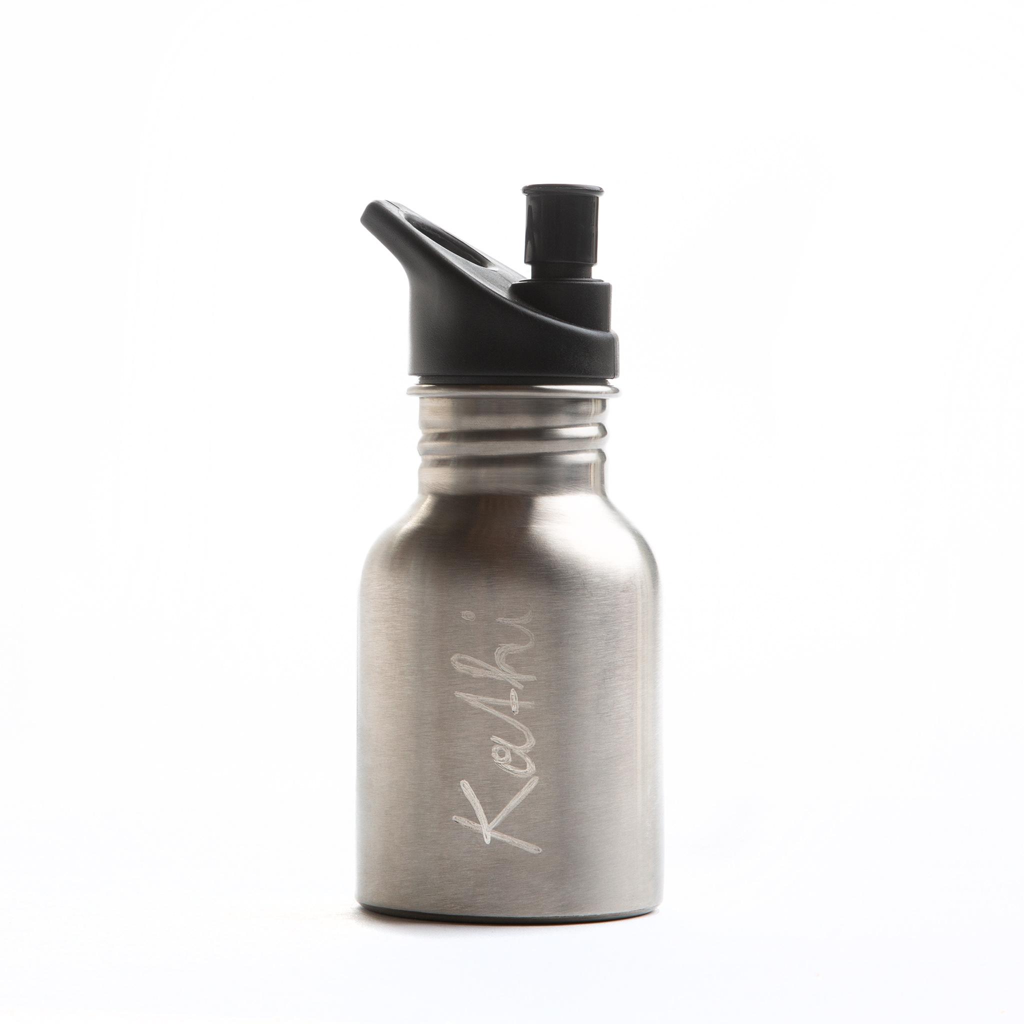 extremnormal® Trinkwasserflasche Handgravur