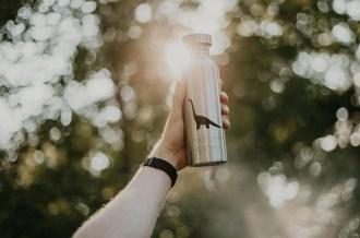 extremnormal® Trink Wasser Flasche #2 nirosta 18/08