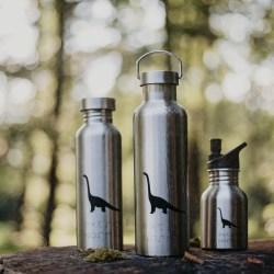 extremnormal® Trink Wasser Flasche Edelstahl Nirosta Handgravur