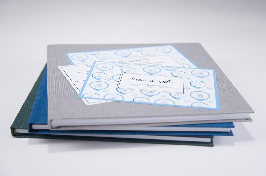 till varje bok följer ett kort med goda råd