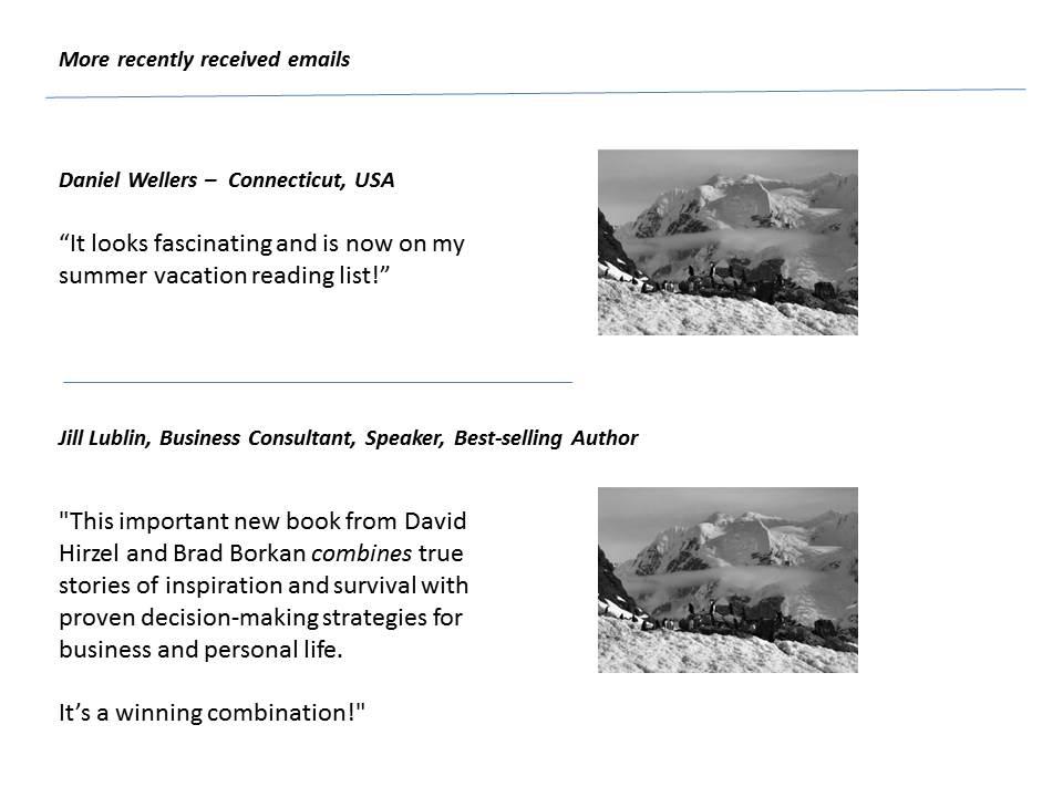 Daniel Wellers and Jill Lublin testimonial