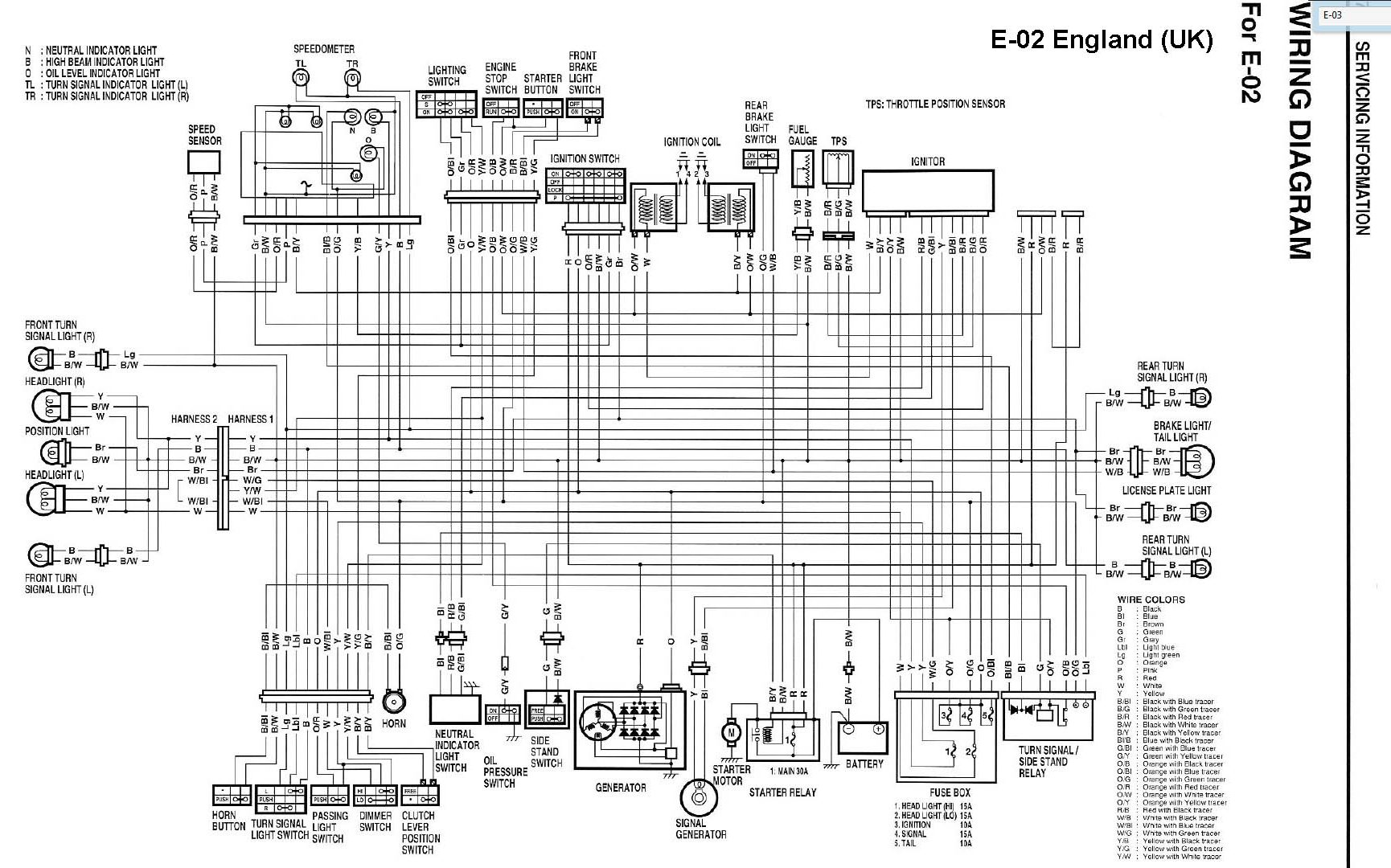 Wiring diagram for suzuki gt swift