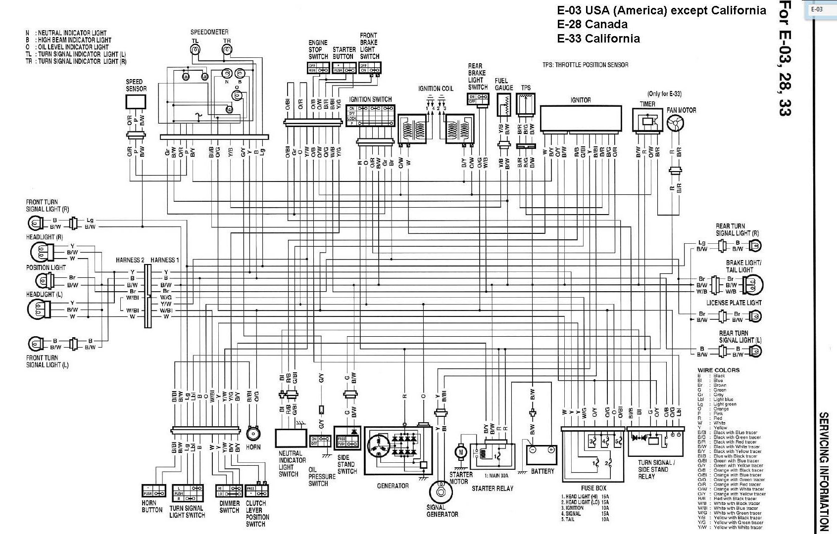 suzuki gsxf katana 600f 750f 1100f skhema elektroprovodki wiring diagram 4?resized665%2C425 suzuki gsxr 750 wiring diagram suzuki gsxr 750 headlights \u2022 free 2003 suzuki katana 600 wiring diagram at virtualis.co