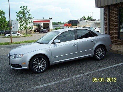 2008 Audi A4 Tint