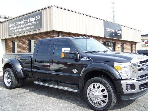 2012 Ford F450 tint