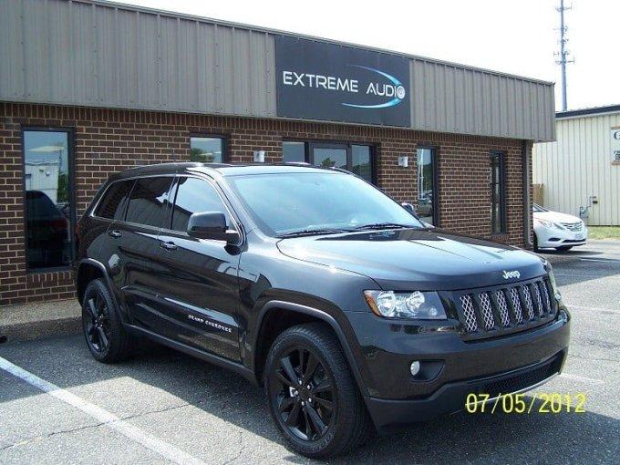 2012 Jeep Grand Cherokee Tint