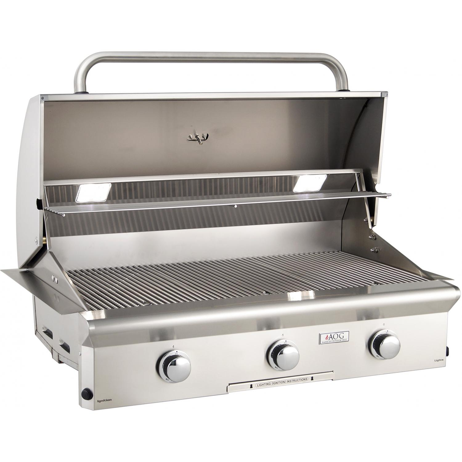 American Outdoor Grill T-Series 36-Inch 3-Burner Built-In ... on Built In Grill Backyard id=47578