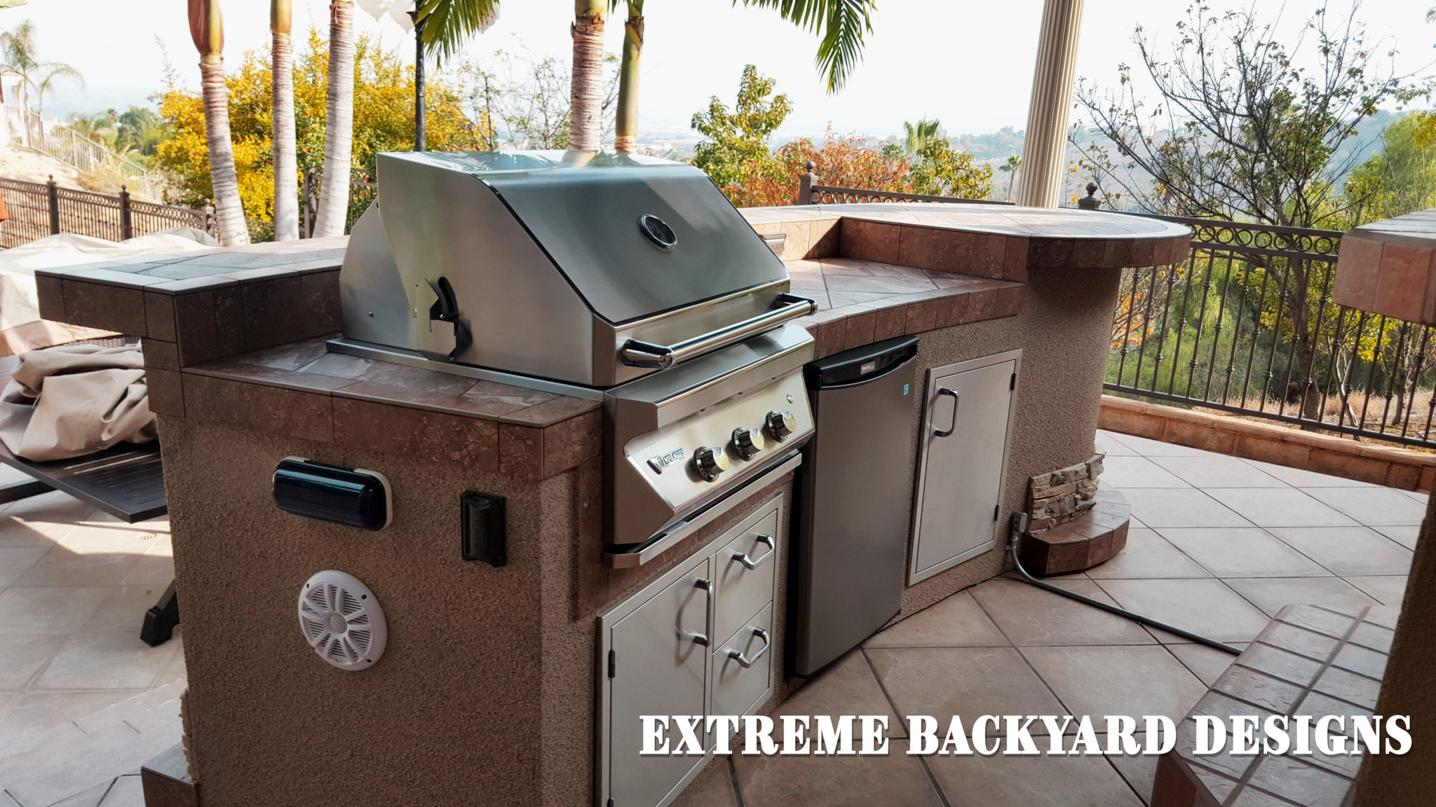 BBQ Islands Corona | Extreme Backyard Designs on Backyard Patio Grill Island id=22510
