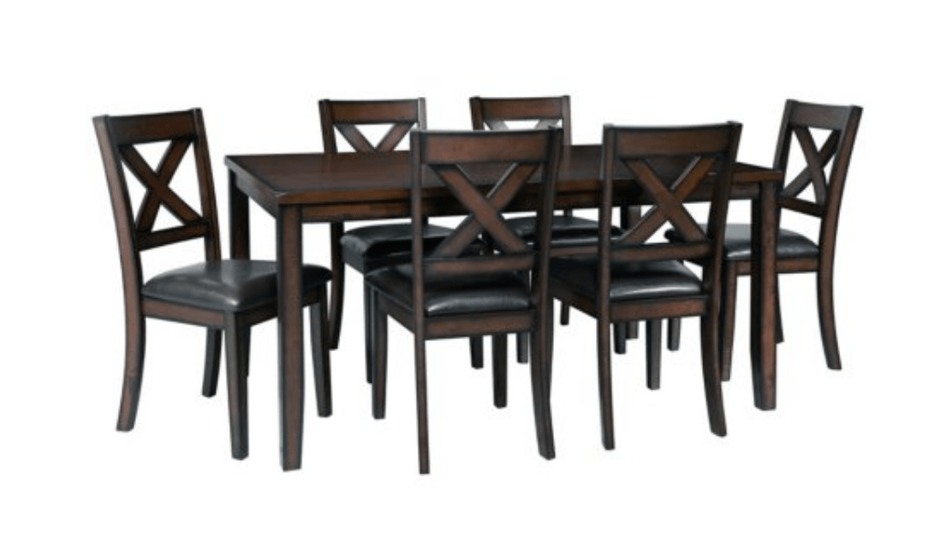 399 Was 1100 Walker 7 Piece Dining Set Extreme