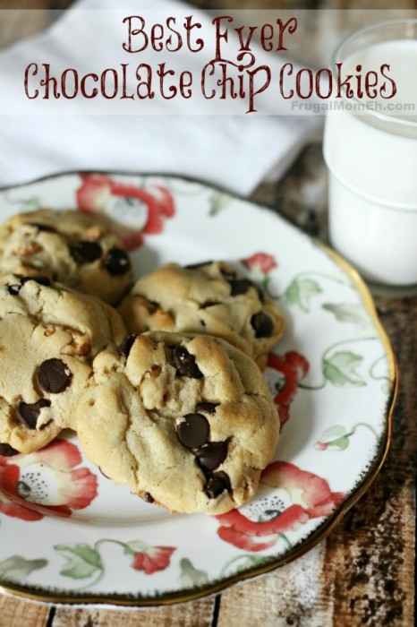 Best Ever Chocolate Chip Cookies | Frugal Mom Eh!