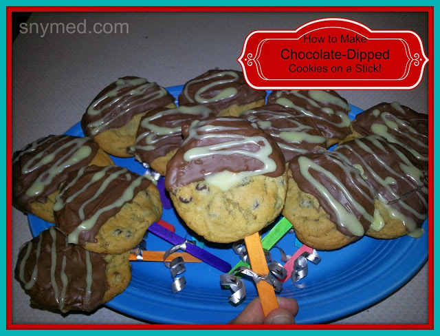 Chocolate Dipped Cookies | snymed