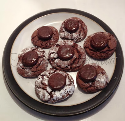 Mint Topped Chocolate Cookies | Tales of Mommyhood