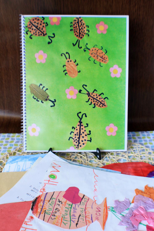 Children's Art & School Work Photo Book Mom Hack